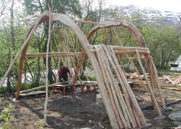 goahti construction