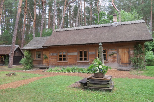 maison bois jurmala