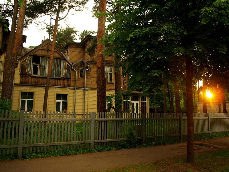 maisons en bois jurmala