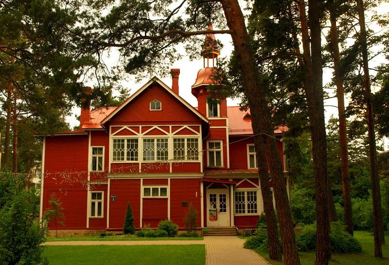 maison en bois jurmala