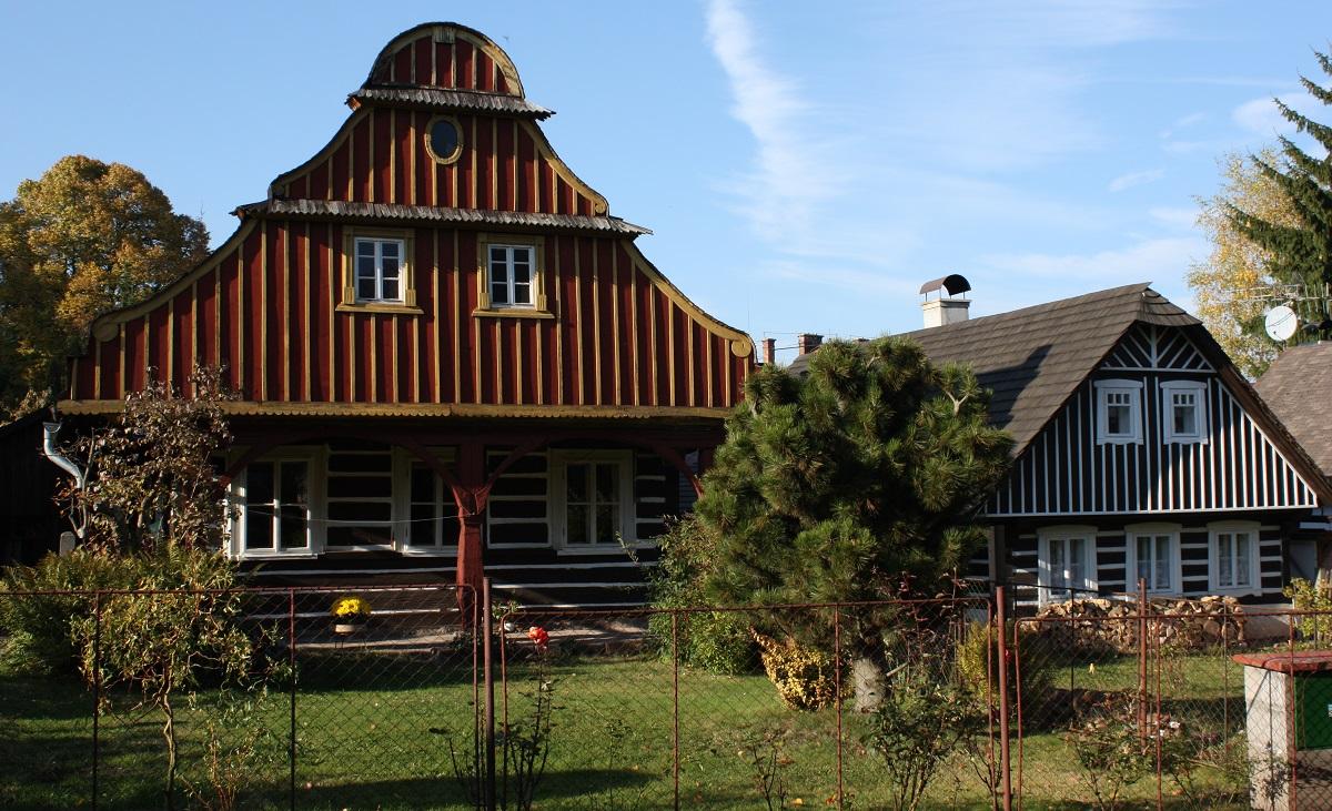 maison baroque bois republique tcheque