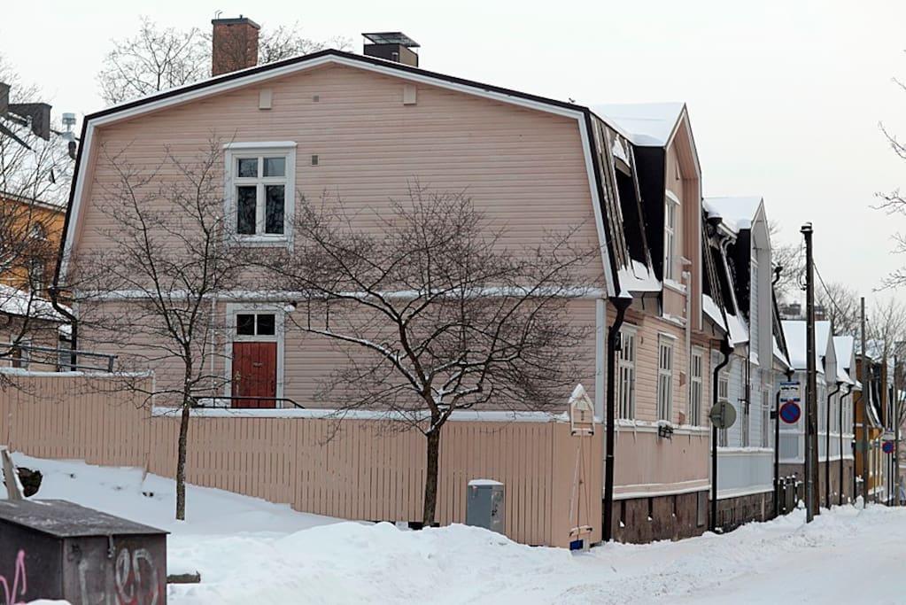 maison bois helsinki