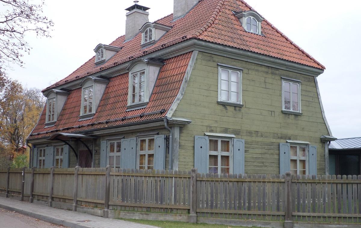 maison lettonie