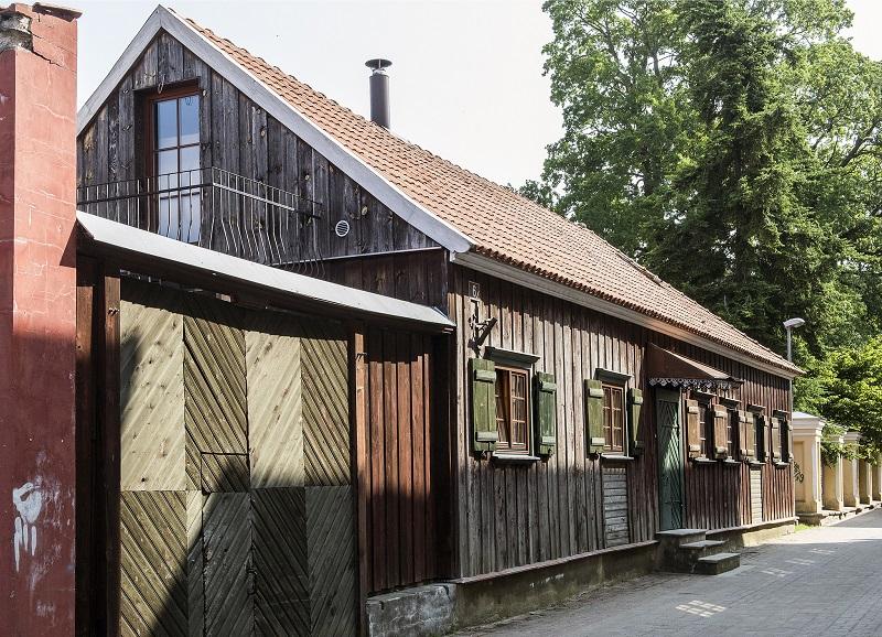 maison bois parnu