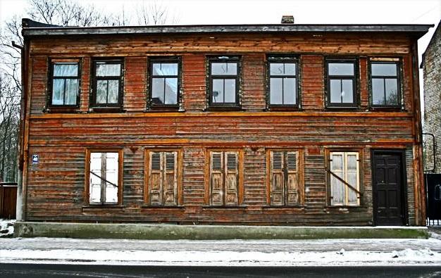 maison bois riga