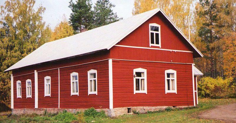 Les Maisons En Bois Rouge De Falun