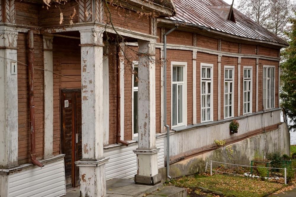 maison bois trakai