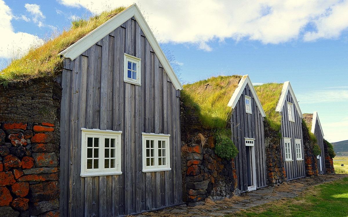 maison d'herbe de Þverá