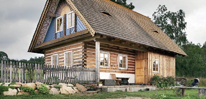 maison en bois monts Orlické Hory