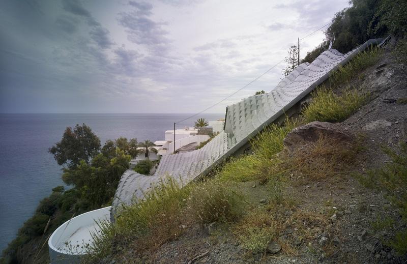 maison espagnole colline