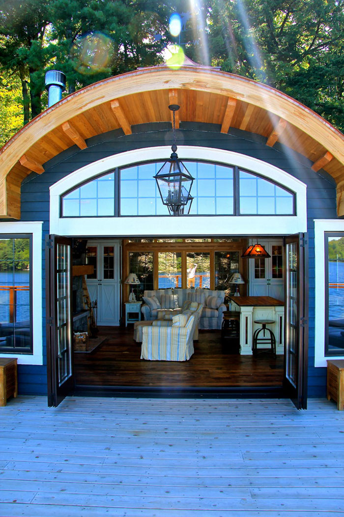 maison flottante canada