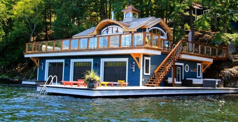 Belle maison flottante au canada for Annuler offre achat maison