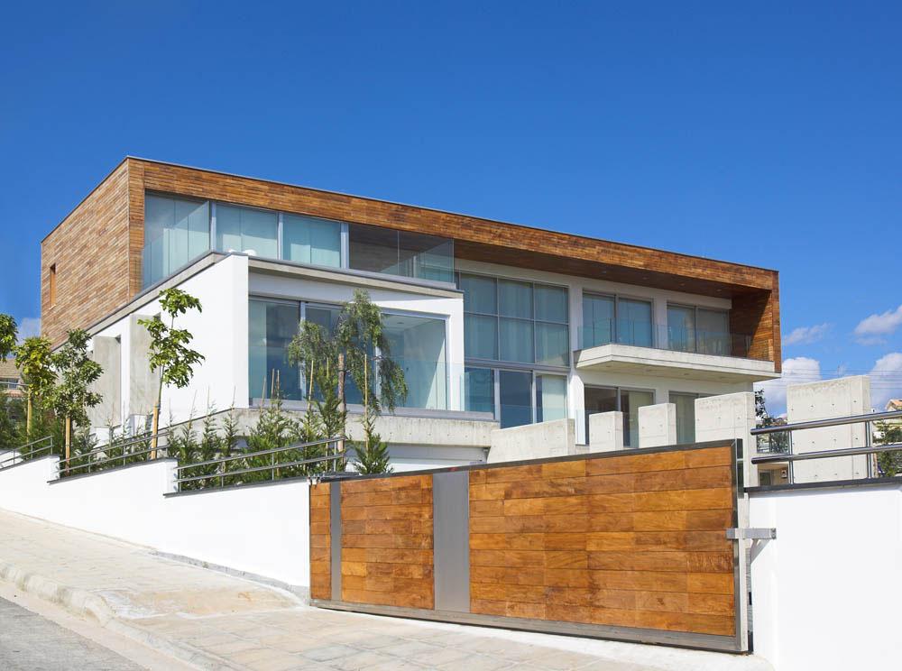 maison moderne elegante chypre