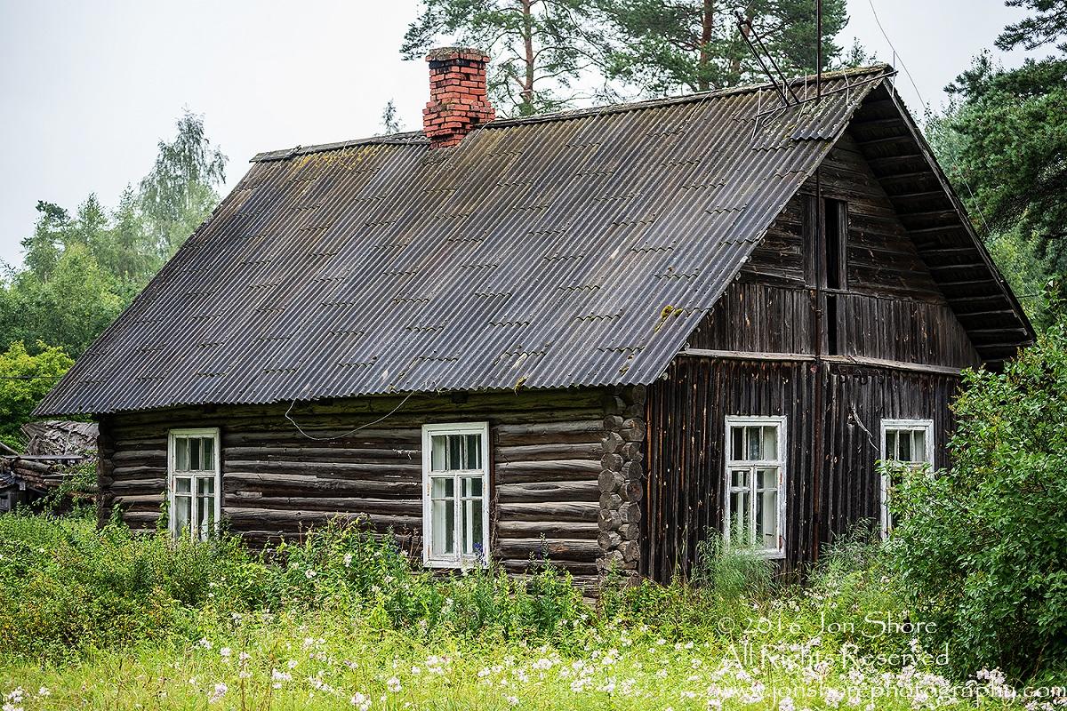 maison rondins estonie