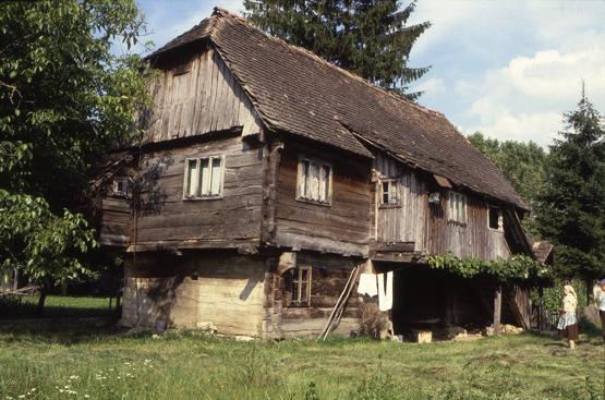 maison bois croatie