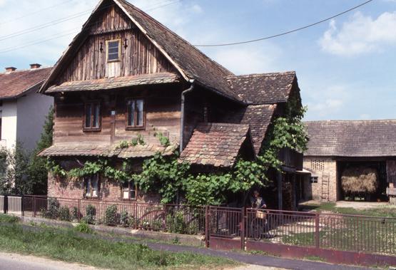 maison bois croate