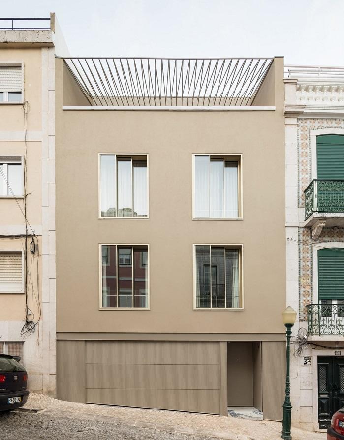 maison traditionnelle de Lisbonne