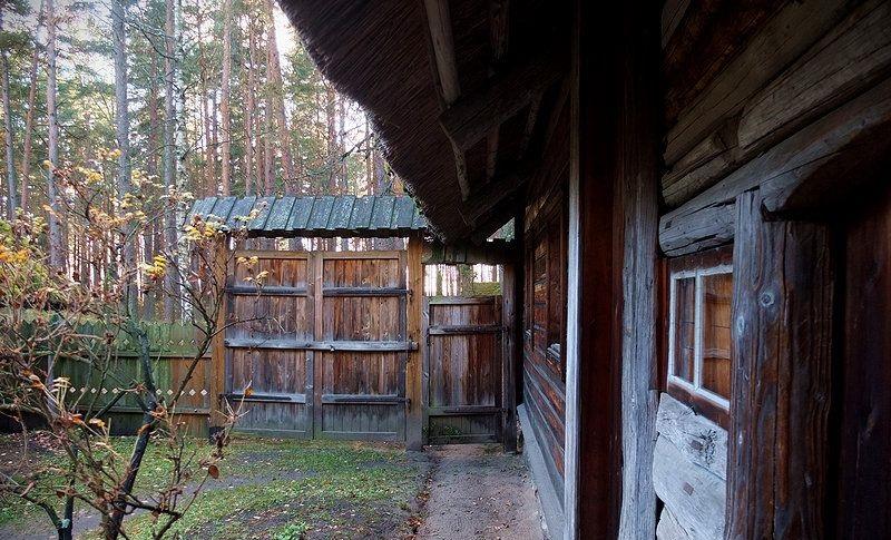 maison traditionnelle lettonie