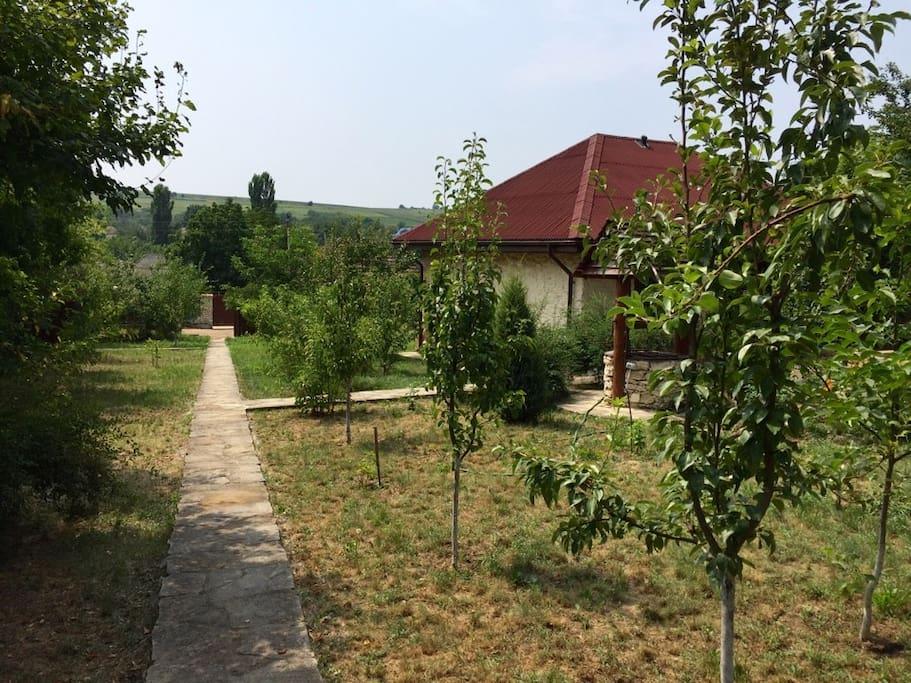 maison typique moldavie