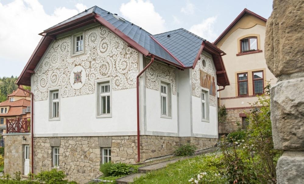 maisons Dusan Jurkovic Luhacovice