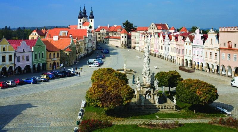 maisons Renaissance et Baroque Telc