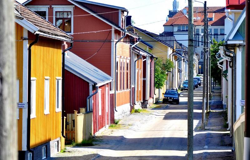 maisons bois Jakobstad