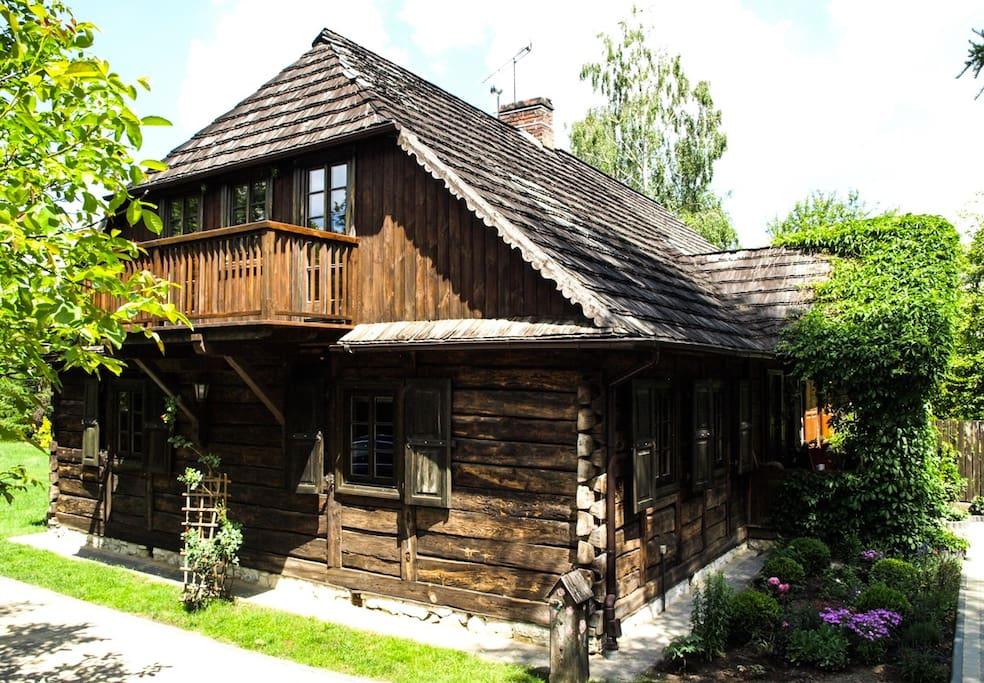 maisons bois Nałęczów