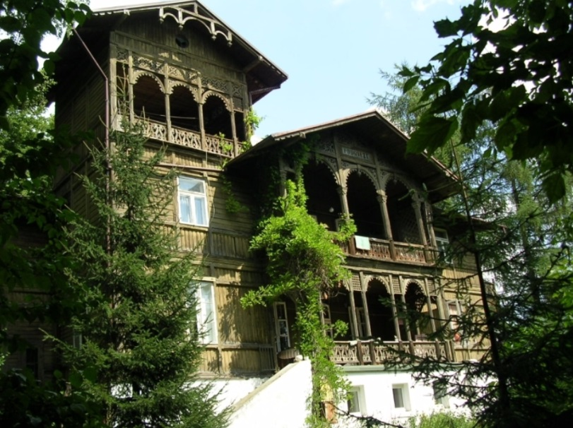 villa bois Nałęczów
