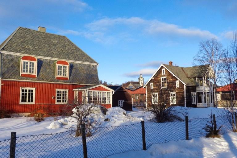 maisons bois Røros