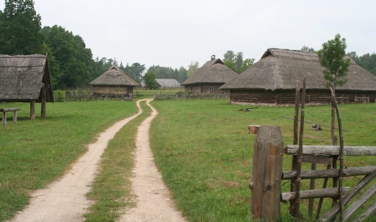 maisons bois Rumsiskes