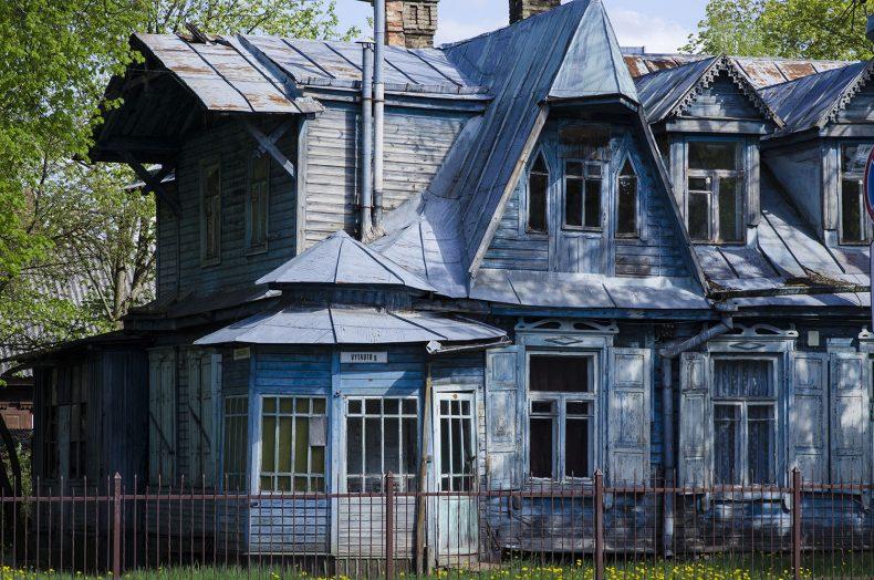 maisons bois lituanie