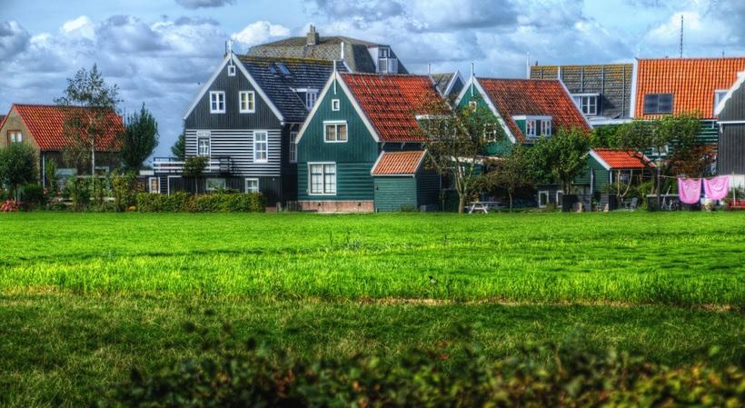 maisons bois volendam