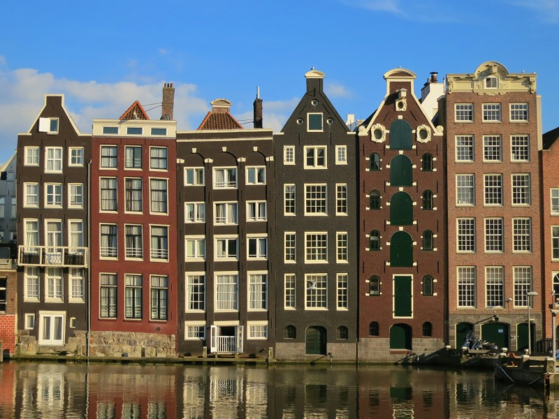 maisons canal amsterdam