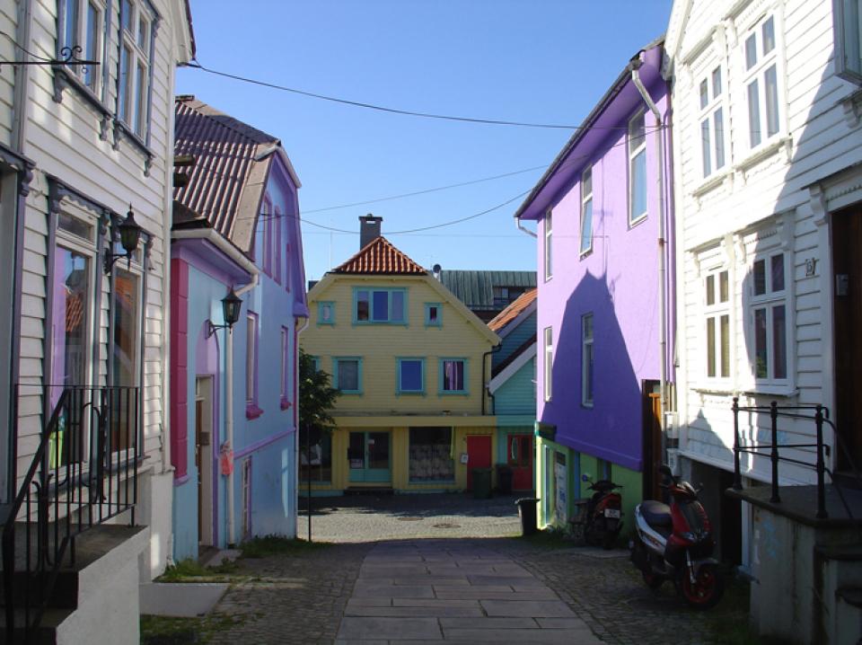 maisons colorées ovre holmegate