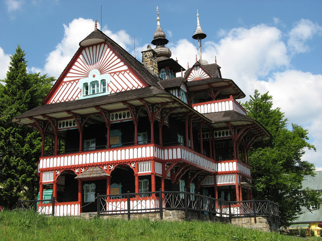 maisons de Pustevny