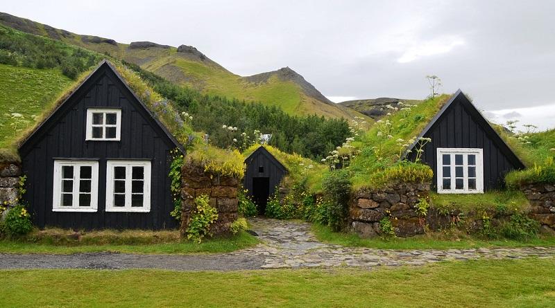 l 39 histoire des maisons d 39 herbe aux les f ro et en islande. Black Bedroom Furniture Sets. Home Design Ideas