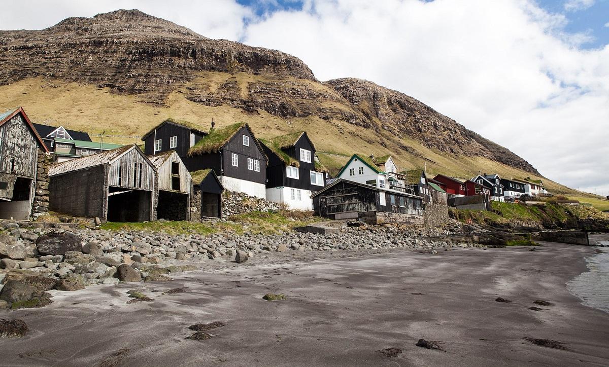 maisons herbe iles feroe