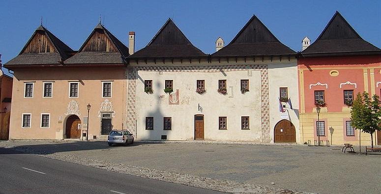 maisons marchands Spišská Sobota