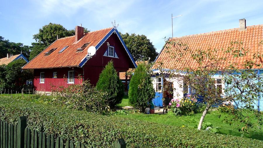 maisons pecheur nida