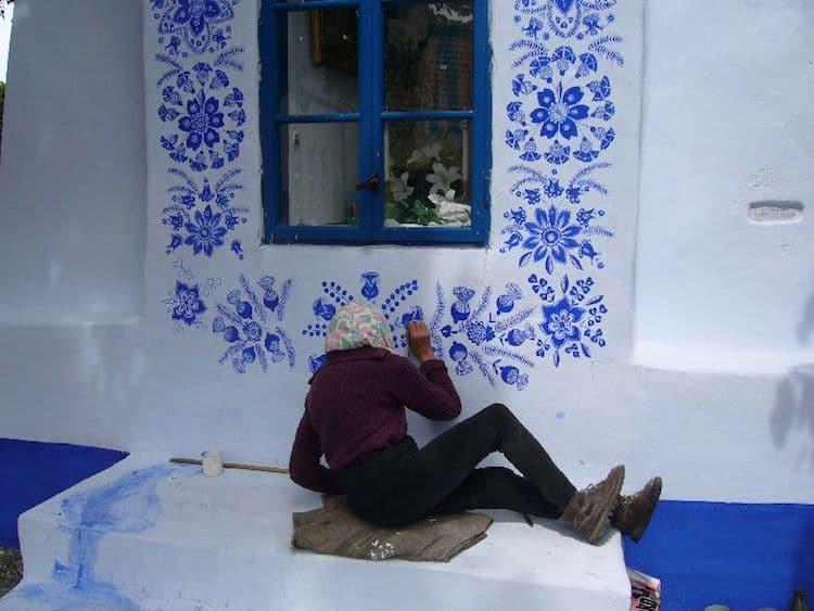 maisons peintes louka