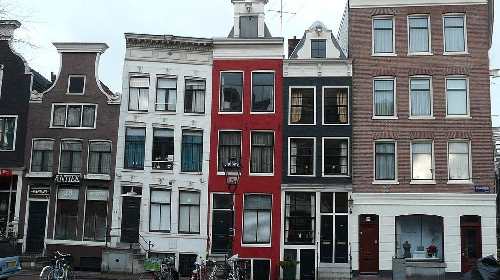 Pourquoi les maisons d 39 amsterdam sont elles pench es - Pourquoi des fourmis dans la maison ...