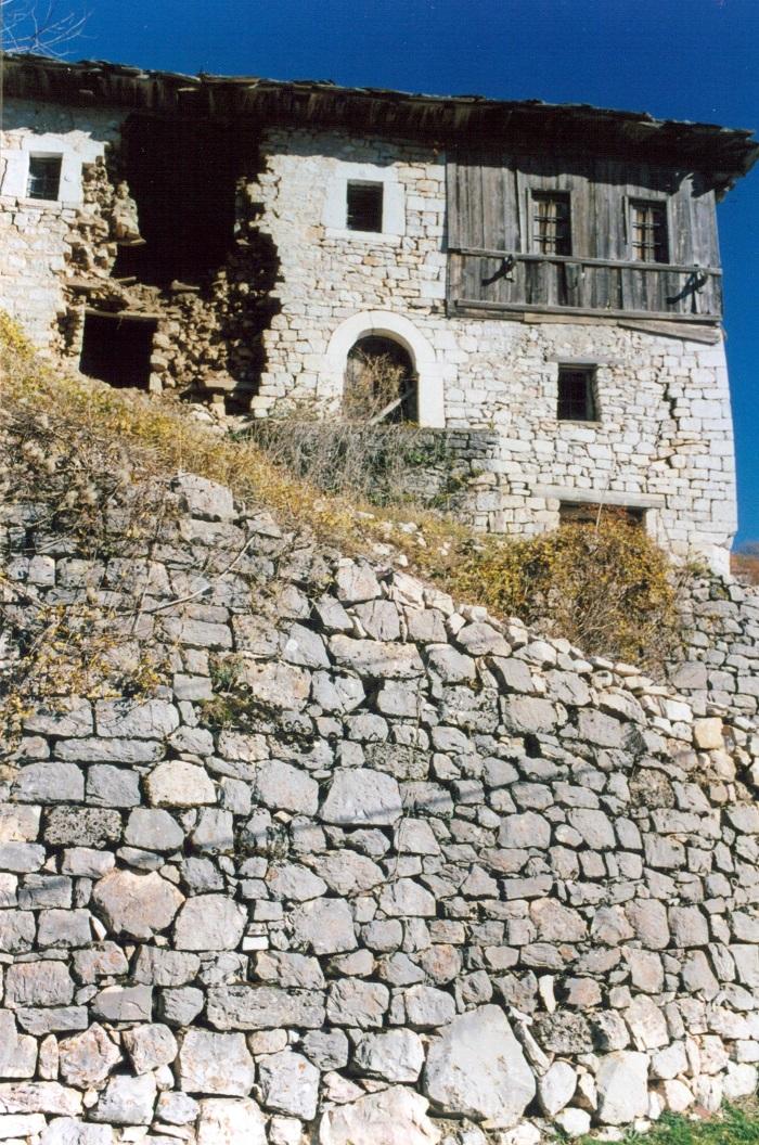 maisons traditionnelles Galitchnik