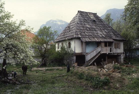 maisons traditionnelles Gusinje