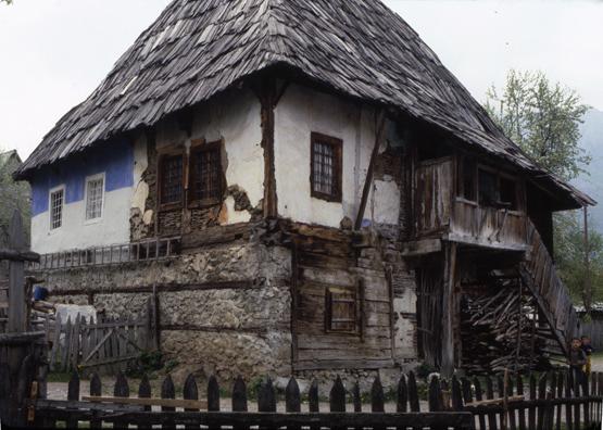 maison traditionnelle de Gusinje