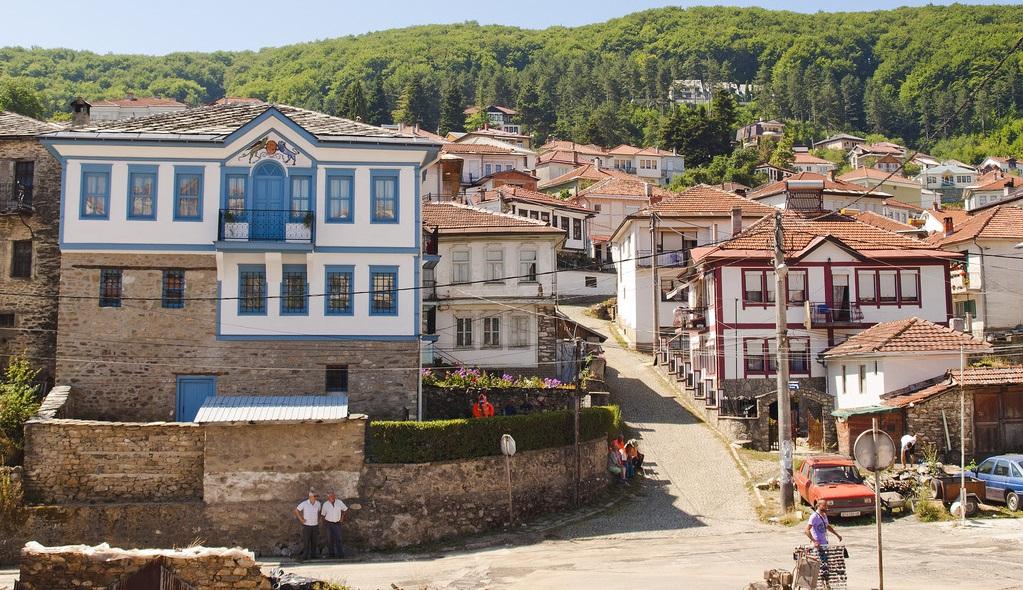 maisons traditionnelles Krouchevo