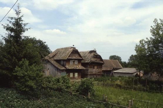 maisons traditionnelles de Lukavec
