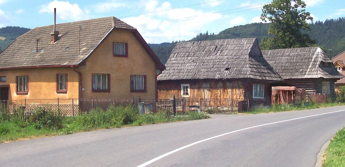 les maisons traditionnelles de podbiel