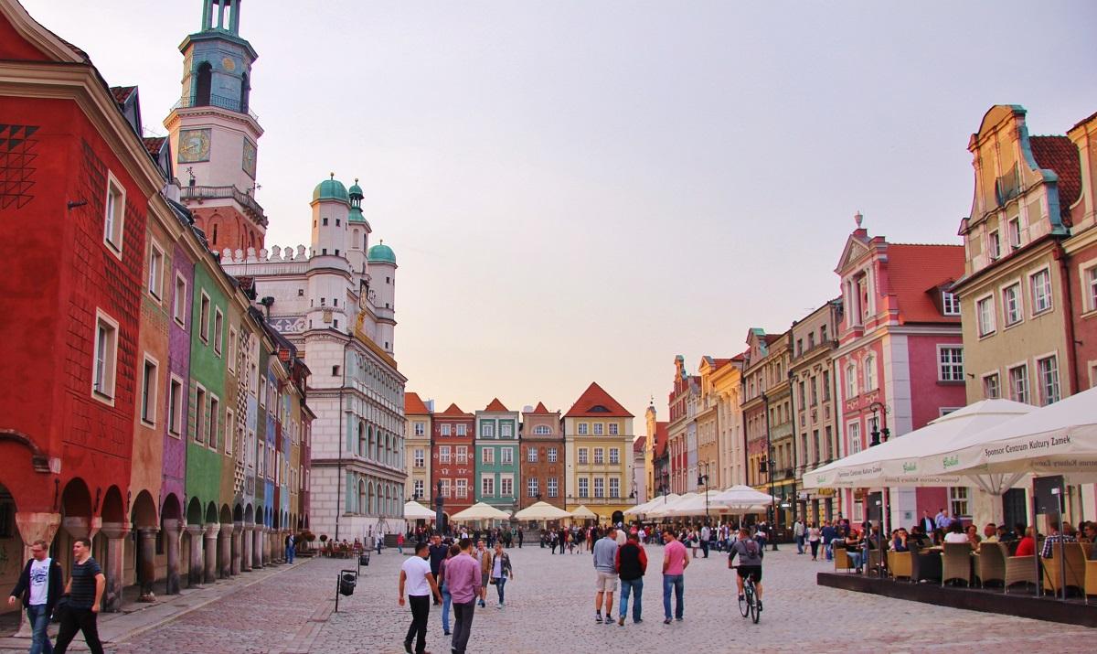 maisons traditionnelles Poznań