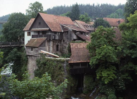 maisons traditionnelles de Slunj
