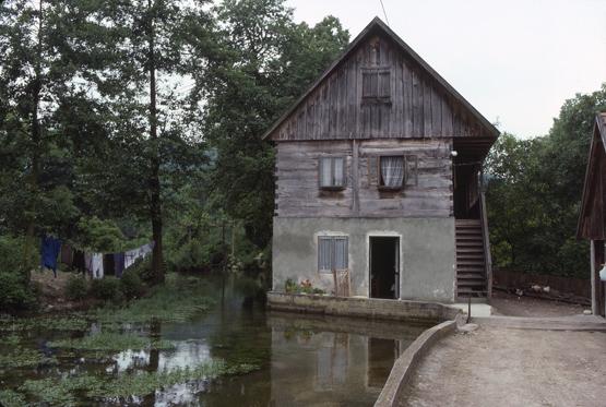 maison traditionnelle Slunj